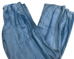 Fade to Blue Flare Pants