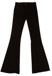 Guess By Marciano Slim High-rise Flare Trouser/Wide Leg Jeans-Dark Rinse