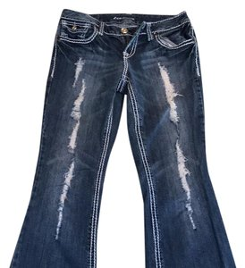 ZCO Jeans Boot Cut Jeans-Distressed