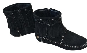Madison Moccasin black Boots