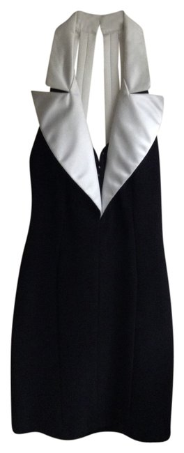 Preload https://item4.tradesy.com/images/betsy-and-adam-black-white-halter-above-knee-cocktail-dress-size-8-m-2150083-0-0.jpg?width=400&height=650