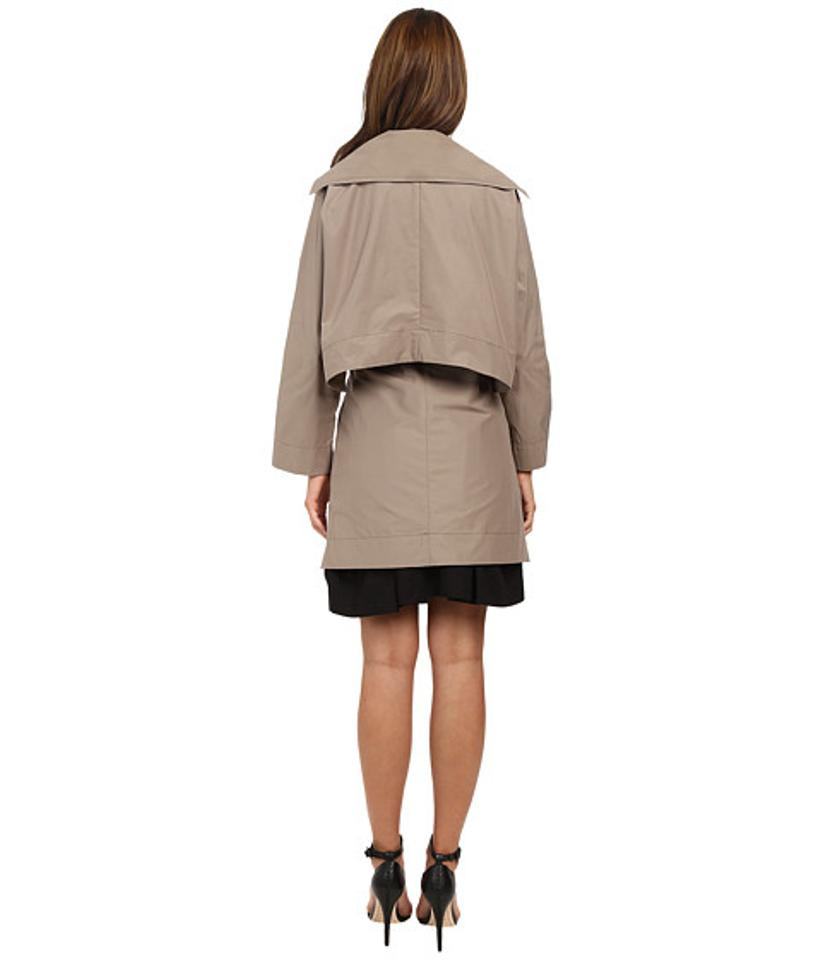 b381c2156c Vivienne Westwood Taupe Windsor Mac with Removable Cape Coat Size 4 (S) -  Tradesy