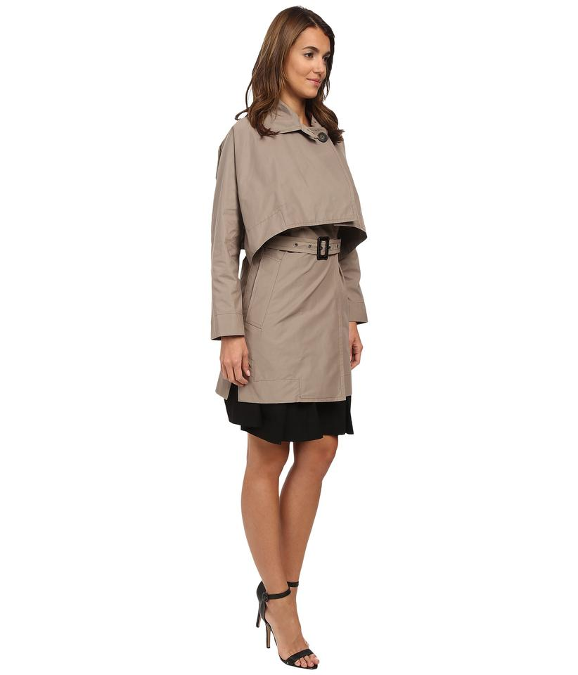 54740ea497 Vivienne Westwood Taupe Windsor Mac with Removable Cape Coat Size 4 ...