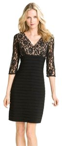 Adrianna Papell Formal Lace V-neck Dress