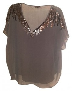 Express Top Grey with flowy sleeves