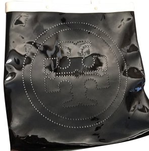 Tory Burch black and handles are white Beach Bag