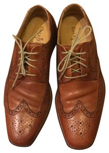 Cole Haan British Tan Calf Flats