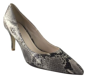Cole Haan Nude / Gray Snakeprint Pumps
