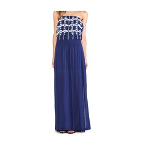 Navy Blue Maxi Dress by LAmade