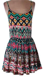 Tobi short dress Printed on Tradesy