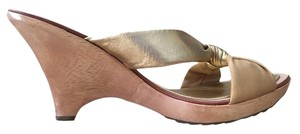Kate Spade Gold Metallic Wedges