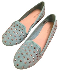Nine West Mint Green Flats