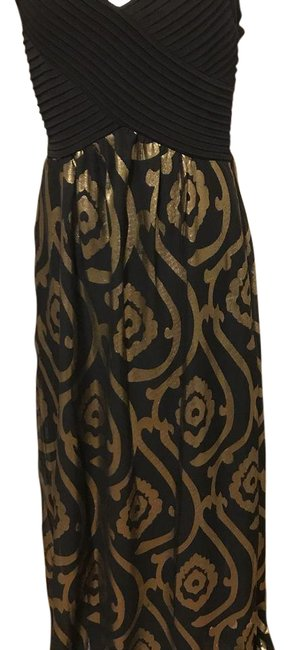 Item - Black and Gold Long Formal Dress Size 10 (M)