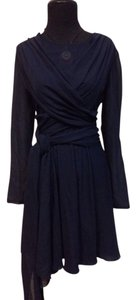 Valentino Silk Vintage Designer Wrap Dress