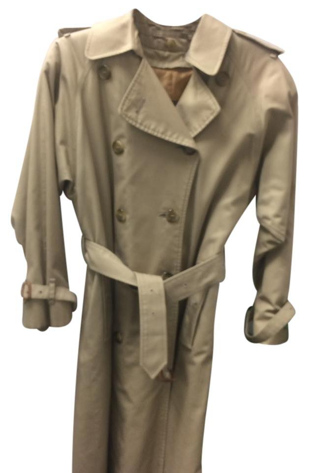 27369b039d7 Burberry Tan Trench Coat. Size  18 ...