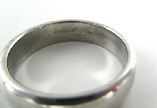 Tiffany & Co. Platinum Co Engagement Ring Size 11.5 Unisex Fine Men's Wedding Band Image 6