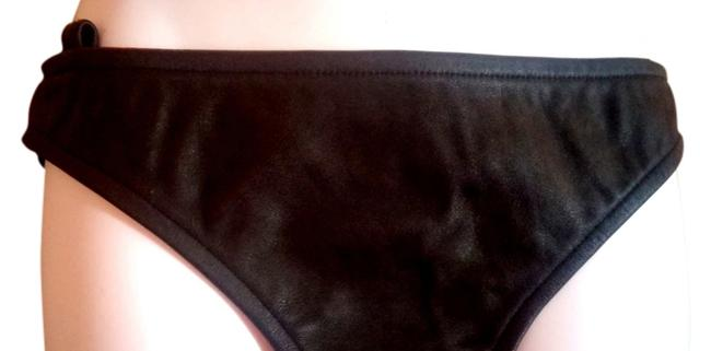 Victoria's Secret Hot Panty Leather Sexy Mini/Short Shorts Black and Airbrush Model