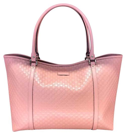 Preload https://img-static.tradesy.com/item/21504380/gucci-gg-leather-pink-tote-0-1-540-540.jpg