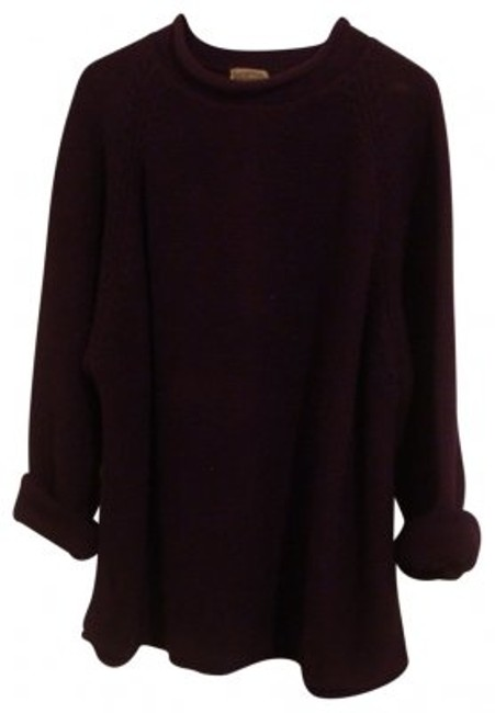 Preload https://item1.tradesy.com/images/eggplant-chunky-boyfriend-knit-sweaterpullover-size-12-l-21505-0-0.jpg?width=400&height=650