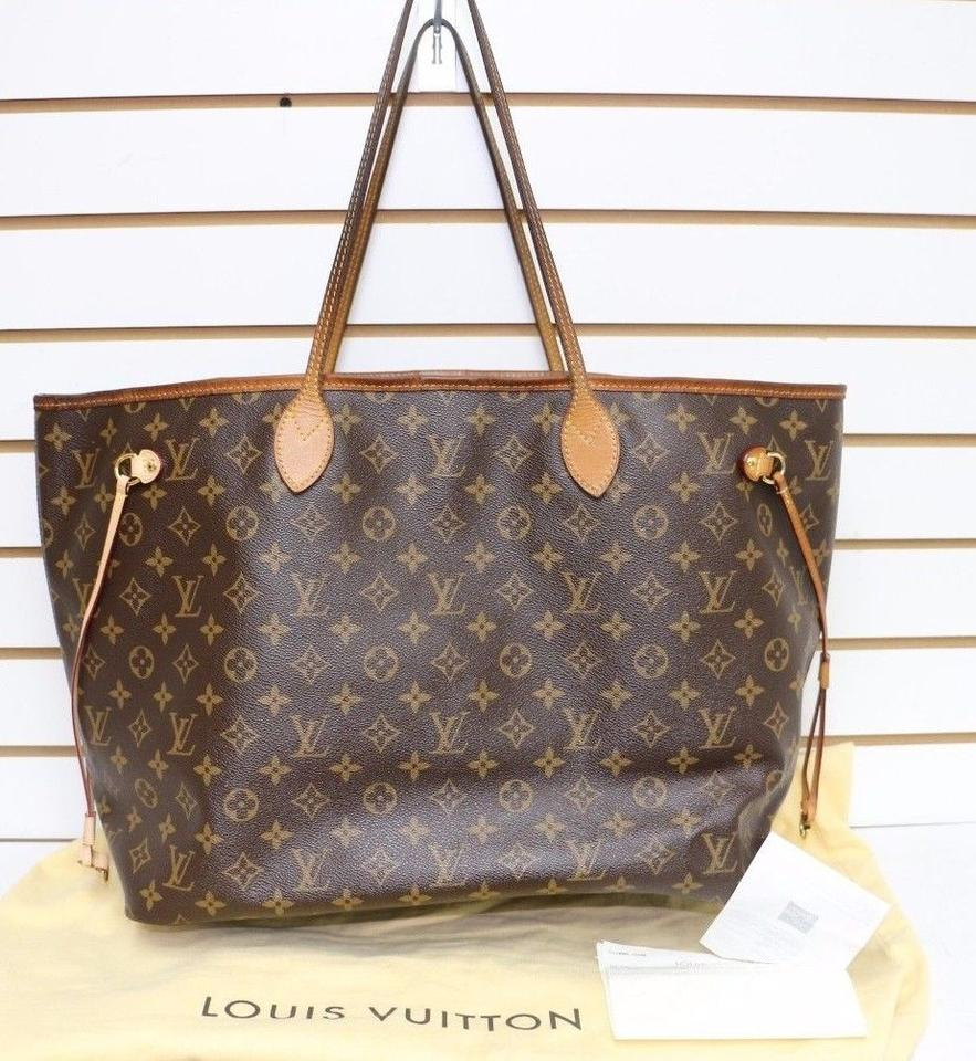 louis vuitton sale neverfull gm tote bag on sale 55 off totes on sale. Black Bedroom Furniture Sets. Home Design Ideas
