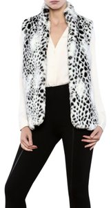 Erin London Faux Fur White Vest