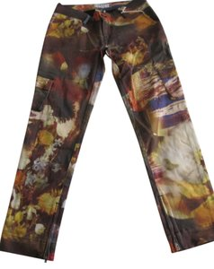 Diesel Stretch Cargo Pockets Capri/Cropped Pants multi-color