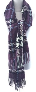 Burberry Fringe Long Scarf