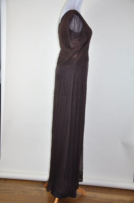 Brown Maxi Dress by Blossom Burani Maxi Size 44 Boho Chic