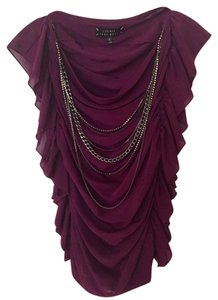 Robert Rodriguez Necklace Nightout Top Magenta