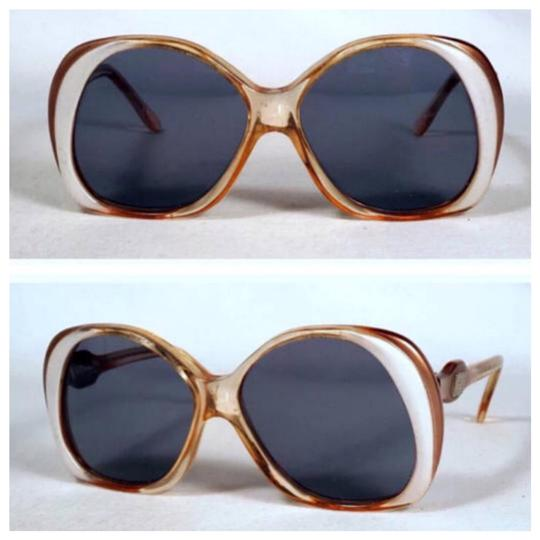 Preload https://img-static.tradesy.com/item/21506421/emilio-pucci-brown-and-off-white-vintage-deadstock-sunglasses-0-0-540-540.jpg