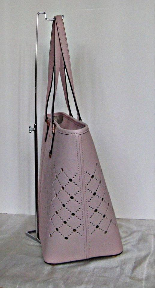 642e7783adfa ... Michael Kors Mk Violet Saffiano Leather Gold Hardware Pink Tote in Navy.