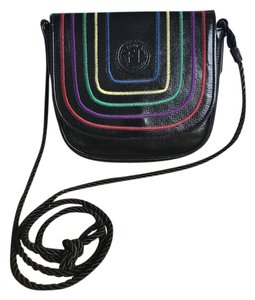 Fendi Leather Rainbow Cross Body Bag