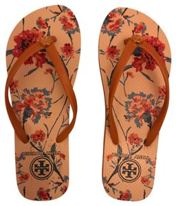 Tory Burch pink and orange Sandals