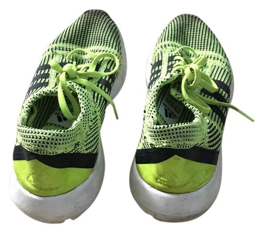 adidas Knit Sneaker Neon Green Athletic Shoes on Sale  #2: adidas neon green athletic 0 1 width=440&height=440