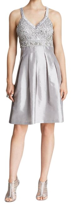 Preload https://item4.tradesy.com/images/sue-wong-gray-n4237-fit-and-flare-empire-waist-knee-length-cocktail-dress-size-8-m-2150748-0-0.jpg?width=400&height=650