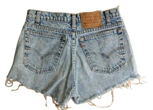 Levi's Vintage Cut Off Shorts Faded Blue