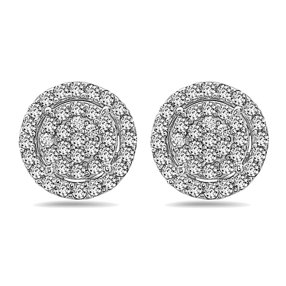 birthday knot sterling diamond t ideas in stud c silver gift w zales gifts v earrings love crushed