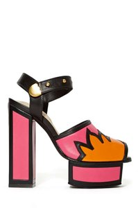 Kat Maconie Pink/Black/Orange Pumps