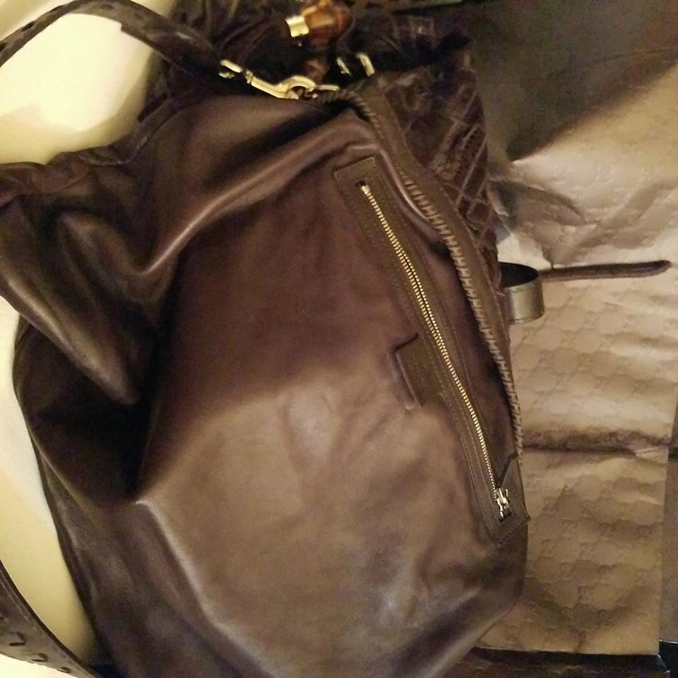 86566f2f70c Gucci Jackie Exotic New 218491 Ch12g 2145 Chocolate Brown Ayers Snakeskin  Leather Hobo Bag - Tradesy