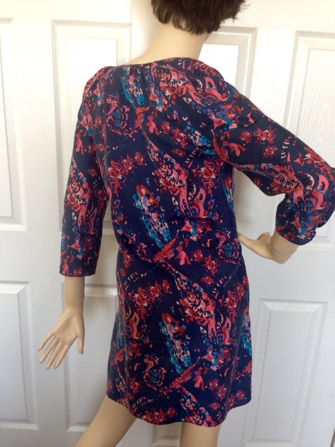 Juicy Couture short dress Floral Navy/pink on Tradesy Image 6