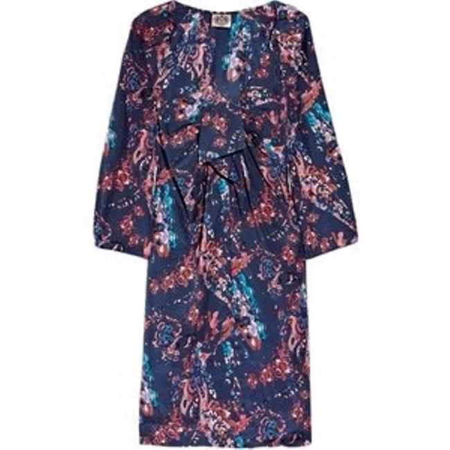 Juicy Couture short dress Floral Navy/pink on Tradesy Image 7