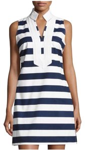 Sail to Sable short dress Navy and White on Tradesy