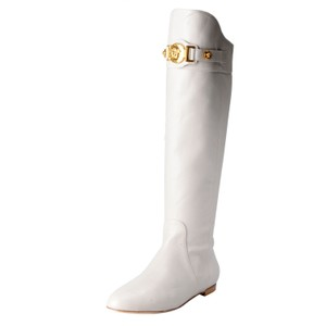 Versace Off White Boots