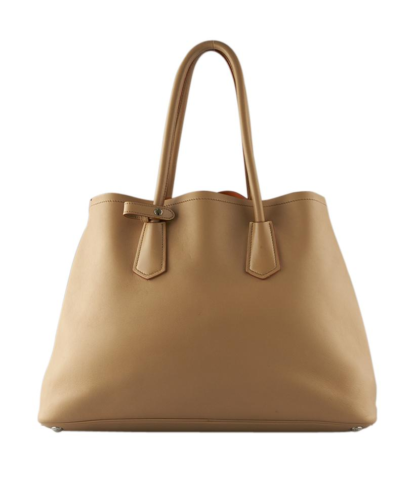 289f357c29be ... caramel 7778a b149f uk prada leather br5070 tote in brown.  1234567891011 bda2c 28d51 promo code for pre owned at therealreal prada  city calf saffiano ...