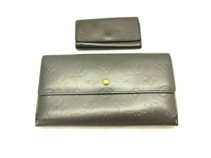 Louis Vuitton Monogram Vernis Mat Wallet and Key Case ( WHOLESALE SET ) 217979