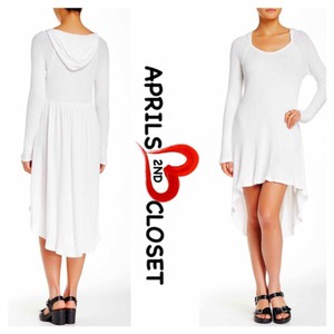 Paper Crane TUNIC DRESS Hooded Mini Coverup