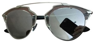 Dior Dior so real cat eye mirrored glasses