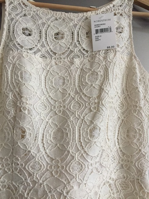 BB Dakota short dress Off White on Tradesy