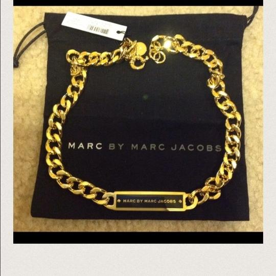 Marc by Marc Jacobs New Plaque ID Link Necklace