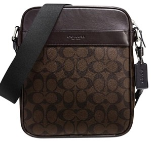 Coach Nwt New With Tags Men's Brown / Mahoghany Messenger Bag